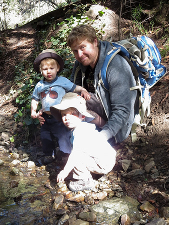 After Recovering from Croup We Visited a Real Creek